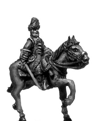 Chevau leger officer in bearskin (18mm)