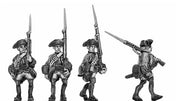 Line in tricorn, marching (18mm)