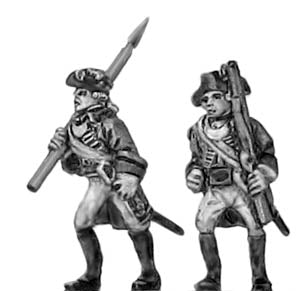 Officer in tricorn (18mm)