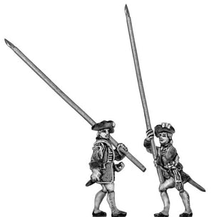 Standard bearer in tricorn (18mm)