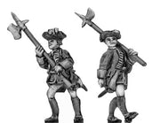 NCO in tricorn, halberd (18mm)