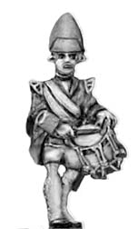 Grenadier in mitre, drummer (18mm)