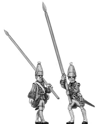 Grenadier Standard bearer in mitre (18mm)