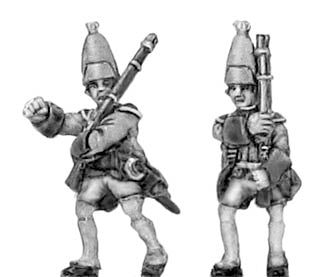 Grenadier NCO in mitre (18mm)