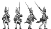 Fusilier in mitre, marching (18mm)