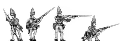 Fusilier in mitre, skirmish (18mm)