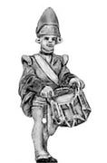 Fusilier in mitre, drummer (18mm)