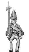 Fusilier officer in mitre (18mm)