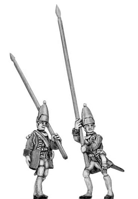 Fusilier standard in mitre (18mm)
