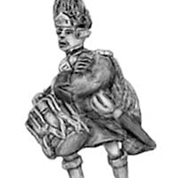 Highland Grenadier in bearskin, drummer (18mm)