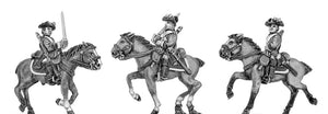 Regiment of horse in tricorn (18mm)