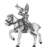 Horse Grenadier trumpeter in mitre (18mm)