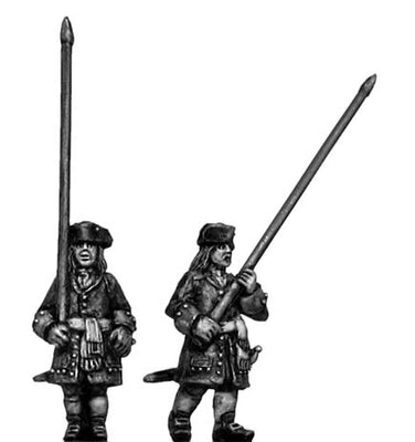 Catalonian standard bearer (18mm)