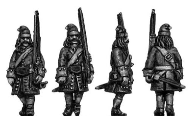 Catalonian Grenadiers, marching (18mm)