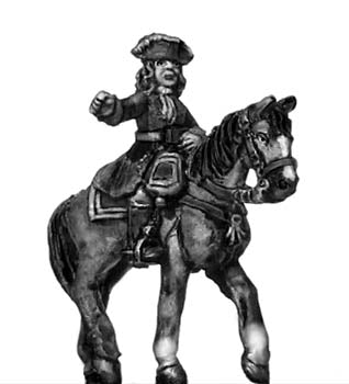 Catalonian Line Cavalry officer (18mm)