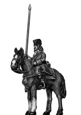 Catalonian Line Cavalry standard (18mm)