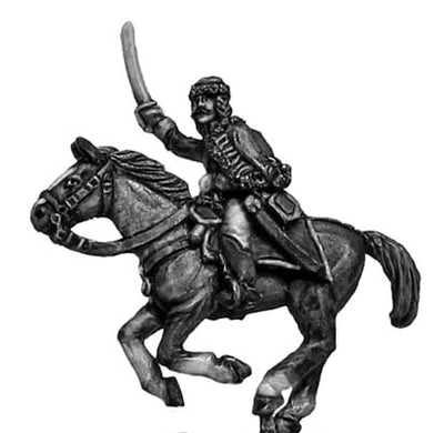 Catalonian Hungarian hussar officer (18mm)