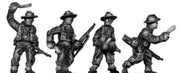 Gurkha infantry with No1 Mk4 rifle khukri drawn in slouch hat (15mm)
