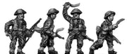 Gurkha infantry with No1 Mk4 rifle khukri drawn in helmet (15mm)