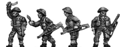 Gurkha infantry with No1 Mk3 rifle khukri drawn in helmet (15mm)