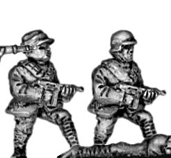 Chinese infantry with submachinegun (15mm)