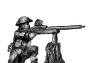 Gurkha with Boyes AT rifle in helmet (15mm)