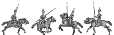 NEW - Italian Askari Cavalry in fez w/rifle, sabre and lance (15mm)