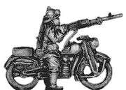 Bersaglieri on motorcycle with LMG (15mm)
