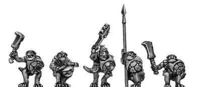 Lizard Warriors with Hand Weapons (10mm)