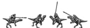 Lizard Warrior Raptor Riders (10mm)