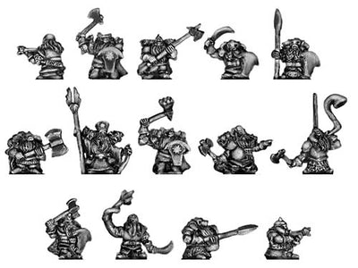 Chaos Dwarves (10mm)