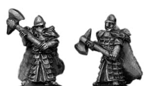 High Elf Reavers with axes (10mm)