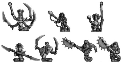 Ophidian characters (10mm)