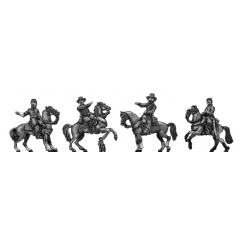 Officers, mounted (15mm)