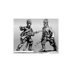 Trooper dismounted advancing, cap (15mm)