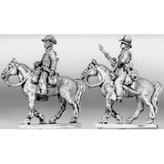 Trooper riding with carbine, hat (15mm)