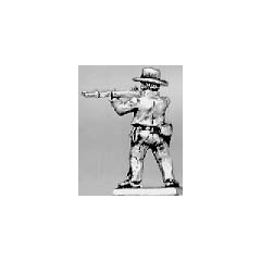 Trooper dismounted firing, hat (15mm)