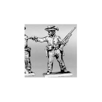 Trooper dismounted shotgun & pistol, hat (15mm)