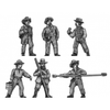 Artillery crew in hat (15mm)