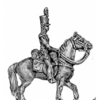 Light Infantry mounted officer (18mm)