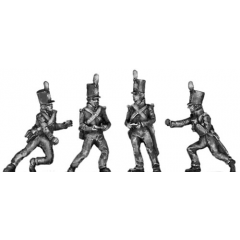 Foot Artillery, crew, moving gun (18mm)