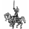 Dragoon, charging, cocked hat, boots (18mm)