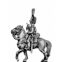 Dragoon trumpeter, cocked hat, boots (18mm)