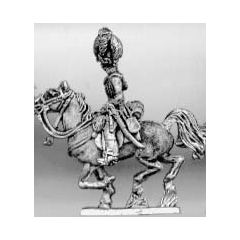 Light dragoon officer, helmet (18mm)