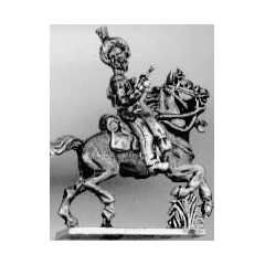 Light dragoon trumpeter, helmet (18mm)