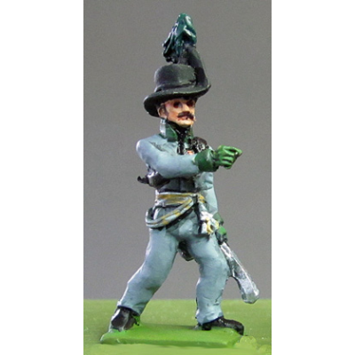 Avantgarde Rifles Officer, Waterloo (18mm)