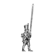 Musketeer standard bearer, shako (18mm)