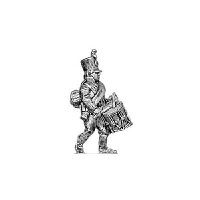 Musketeer drummer, shako (18mm)