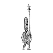 Grenadier NCO, shako (18mm)