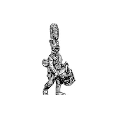 Grenadier drummer, shako (18mm)